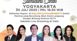 Meet & Greet  Virtual Bersama Bintang  Sinetron Samudra Cinta, Pemirsa Bertanya Seputar Karier  Dan Pribadi