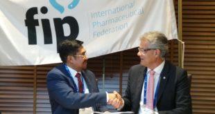 PP IAI dan FIP Tandatangani MoU Program Transformasi Apoteker