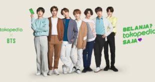 Tandai Kampanye Tokopedia #1Everyday, BTS Didaulat Sebagai Brand Ambassador