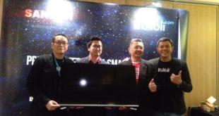 Dongkrak Penjualan Online Smart TV LED Seri terbaru, Sanken Gandeng Blibli.com