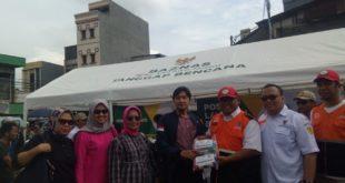Lintasarta dan Baznas  Fokus Kesehatan Warga Kampung Pulo Pasca Banjir, Salurkan Paket Kebersihan Bernilai Ratusan Juta