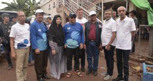 Kolaborasi Paparons Pizza, OORJA GROUP Dan TVRI Bagikan 50 Ribu Slice Pizza Pada  Korban  Banjir  2020