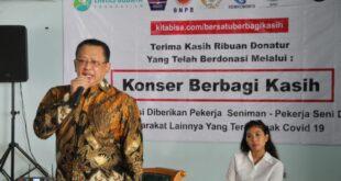 4 Organisasi Seniman Terima Bantuan Sembako Dari Ketua MPR RI