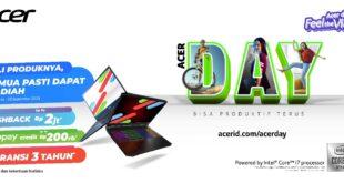 Acer Day 2020 Hadirkan Lini Laptop Terbaru Hingga Hadiah Jutaan