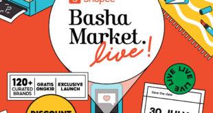 Meriahkan Shopee Basha Market Live, ATS THE LABEL Diskon Gede-Gedean