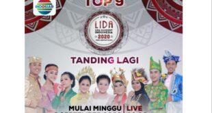 Setelah Tertunda 5 Bulan, Konser Top 9 LIDA 2020 Indosiar Kembali Digelar