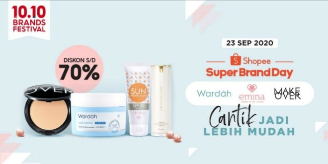 Ngemall Jaman Now: Shopee Gelar  Super Brand Day Paragon
