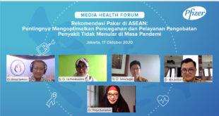 Rekomendasi Pakar di ASEAN: Pentingnya Mengoptimalkan Pencegahan dan Pelayanan Pengobatan Penyakit Tidak Menular di Masa Pandemi