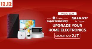 Woow! Kampanye Shopee 12.12  Produk Sharp Diskon Hingga 2 Juta