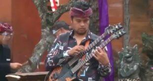 Musisi Balawan Tampil Memukau diPenutupan Rakernas dan PIT Virtual Ikatan Apoteker Indonesia