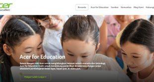 Pembelajaran Digital Kian Pesat, Acer Luncurkan Acer for Education