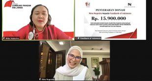Galang Dana Bersama Customer, Nina Nugroho Salurkan Bantuan Untuk Anak-Anak Kurang Gizi Lewat  Foodbank of Indonesia