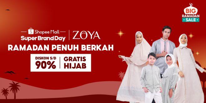 ZOYA Hadir di Shopee Big Ramadhan Sale 2021