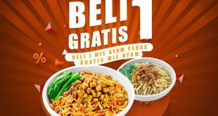 Jadi Best Seller, Mie Ayam Pedas Es Teler 77 Adakan Promo Beli 1 Gratis 1